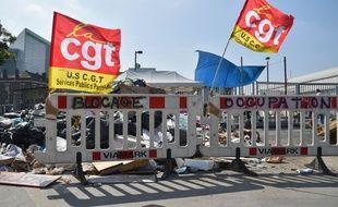 En juin 2016, le centre d'incinération d'Ivry-sur-Seine avait déjà été bloqué par des grévistes.