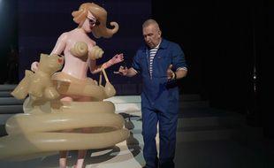 Loïc Prigent a filmé le tout dernier défilé de Jean-Paul Gaultier.