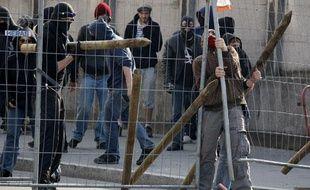 Des manifestants anti-Otan, le 2 avril 2009 à Strasbourg.