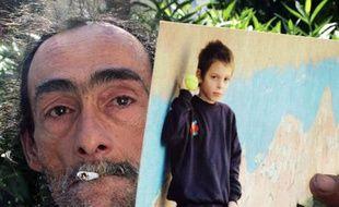 Le père du petit Nelson, renversé à Marseille par une voiture conduite par un policier. L'adolescent est mort dans la nuit de dimanche à lundi.