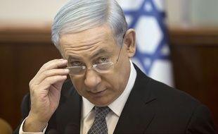Le Premier ministre israélien Benjamin Netanyahou à Jérusalem, le 10 mai 2015.