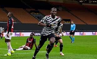 Pogba a envoyé United en quarts de finale de C3
