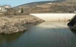 Vue du barrage de Soulage