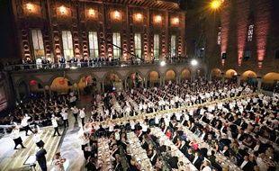 Le prestigieux banquet a lieu chaque année à Stockholm.