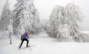 Photo d'illustration d'un skieur, ici la semaine passée en Allemagne.