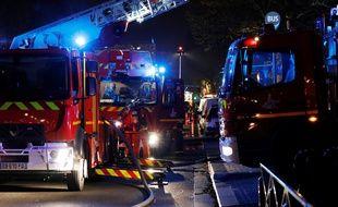 Quelque 80 pompiers sont intervenus.