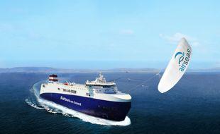 L'aile SeaWing, développée par la société toulousaine AirSeas, devrait être opérationnelle d'ici fin 2019.