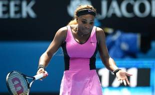 L'Américaine Serena Williams à Melbourne lors de l'Open d'Australie, le 18 janvier 2014.