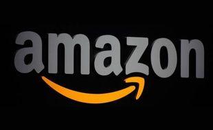 Le logo d'Amazon.