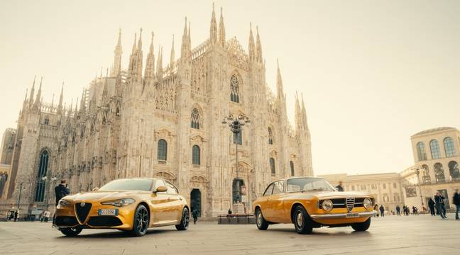 Alfa Romeo fait un clin d'œil au passé