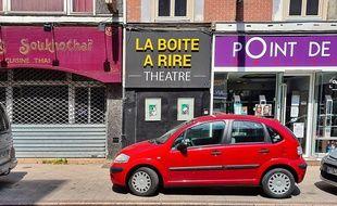 Le théâtre La boîte à rire, à Lille.