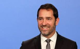 French Junior Minister for the Relations with Parliament and Government Spokesperson Christophe Castaner speaks during a press conference following the weekly cabinet meeting, on November 15, 2017 at the Elysee palace in Paris.