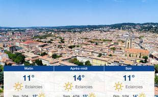 Météo Aix-en-Provence: Prévisions du jeudi 2 avril 2020