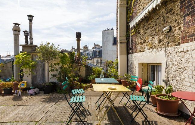 Profitez d'une grande terrasse en plein cœur de Paris