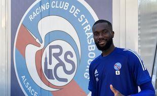 « Je n'ai pas trop réfléchi pour revenir à Strasbourg. C'est un club que je porte dans mon coeur donc quand l'opportunité s'est présentée je n'ai pas hésité », assure Jean-Eudes Aholou.