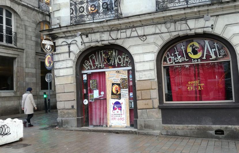 Nantes : Le bar Le Chat Noir sous le coup d'une fermeture administrative