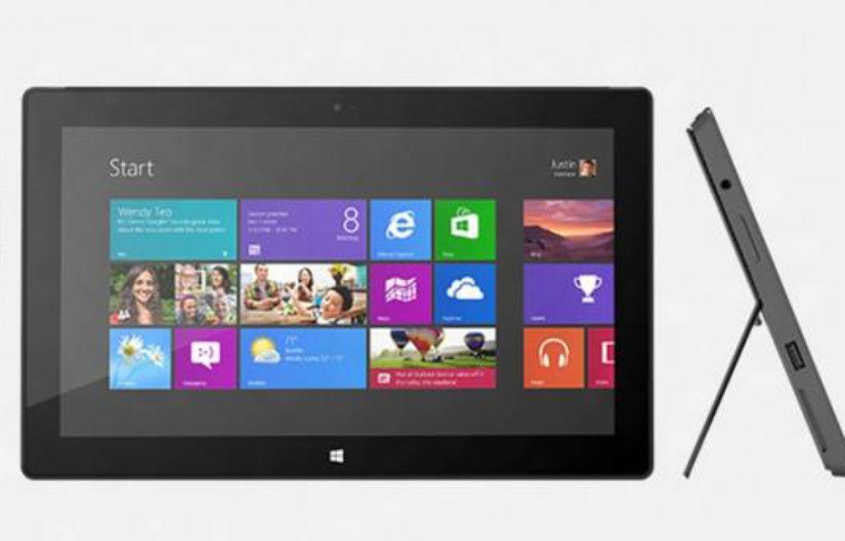 La tablette Surface Pro, de Microsoft, attendue en janvier 2013. – DR