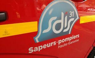 Un camion des pompiers de la Haute-Garonne. Illustration.