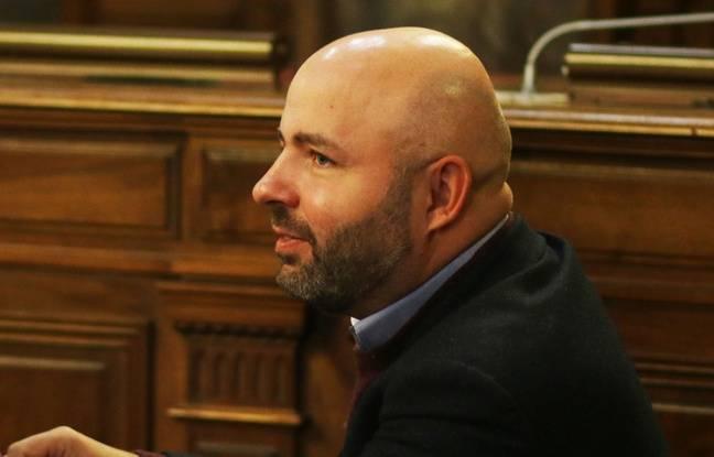 Matthieu Rouveyre, conseiller municipal d'opposition (PS) à Bordeaux