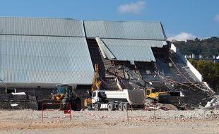 Les travaux de démolition devraient durer jusqu'à fin mars