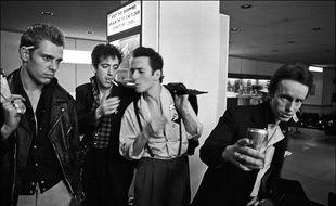 Le groupe The Clash en 1981 à l'aéroport JFK