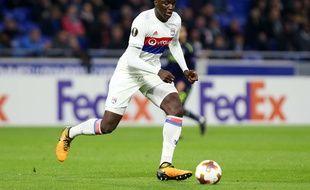 Le défenseur central Mouctar Diakhaby, ici lors du net succès (3-0) le 2 novembre contre Everton en Ligue Europa.