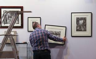 ST-ART, la foire européenne d'art contemporain, se tient du vendredi 21 au lundi 24 novembre 2014 au Parc Expo à Strasbourg. (Archives)