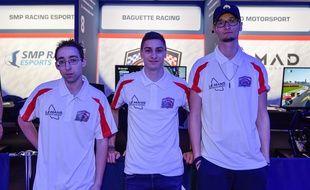 De gauche à droite : Christopher Cabrera, Aurelien Mallet et Alexandre Arnou.