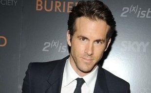 L'acteur Ryan  Reynolds lors de la projection du film «Buried» au Tribeca Grand Hotel, à New York, le 16 september 2010.