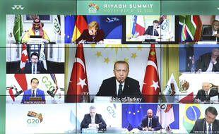 Le G20 s'est tenu au travers d'une visioconférence.