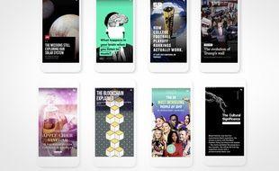Google s'inspire de Snapchat avec ses articles «AMP Stories».