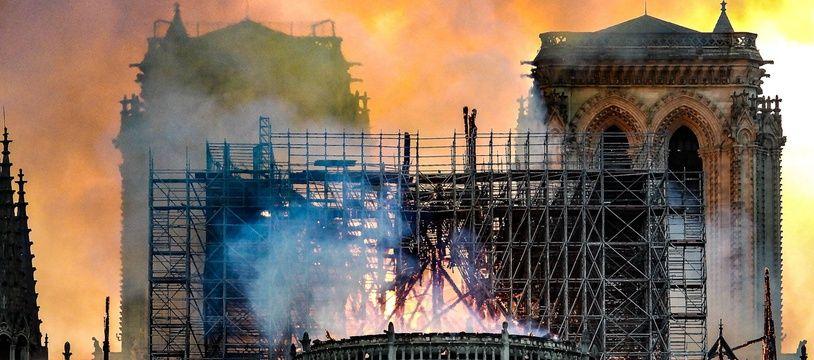 Les dégâts causés par l'incendie de Notre-Dame de Paris sont inestimables.