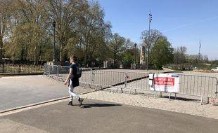 Le parc de la Citadelle, à Lille, avait été fermée par arrêté municipal, le 20 mars