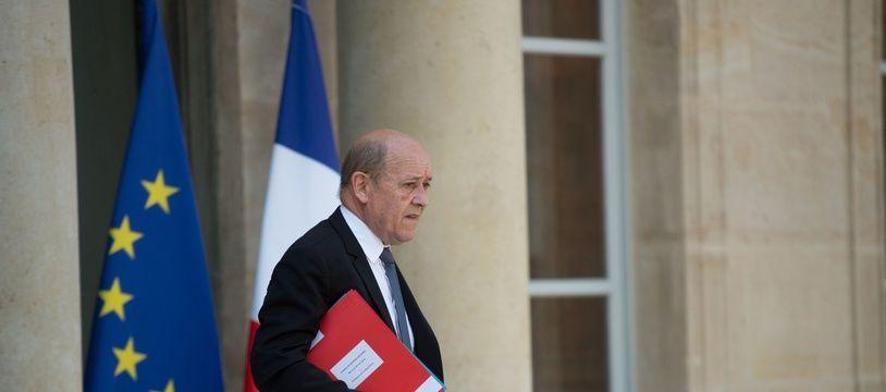 Le chef de la diplomatie française Jean-Yves Le Drian.