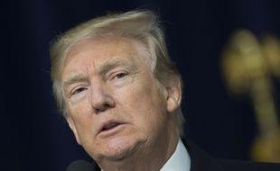 Le président américain Donald Trump s'est dit prêt à s'entretenir avec le leader nord-coréen le 6 janvier 2018.
