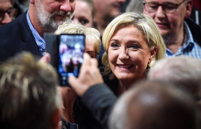 Elections européennes: Voter RN «c'est la certitude de faire tomber le gouvernement», affirme Marine Le Pen