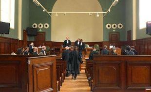 Une salle du palais de justice de Bordeaux