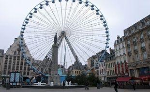 La grande roue sera tout de même installée sur la grand'place de Lille.