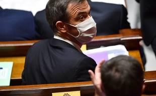 Olivier Véran, le ministre de la Santé, le 8 juillet 2020 à l'Assemblée nationale.