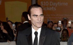 Joaquin Phoenix au dernier festival de Torono, très aminci pour son rôle du Joker dans le film de Todd Philipps