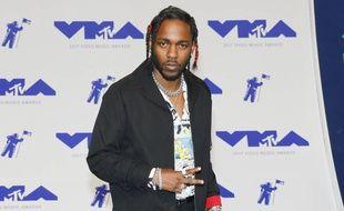 Le chanteur Kendrick Lamar