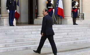 François Hollande, le 26 juillet 2012 à l'Elysée.