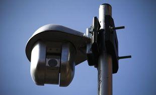 Une caméra de vidéosurveillance. (Illustration)