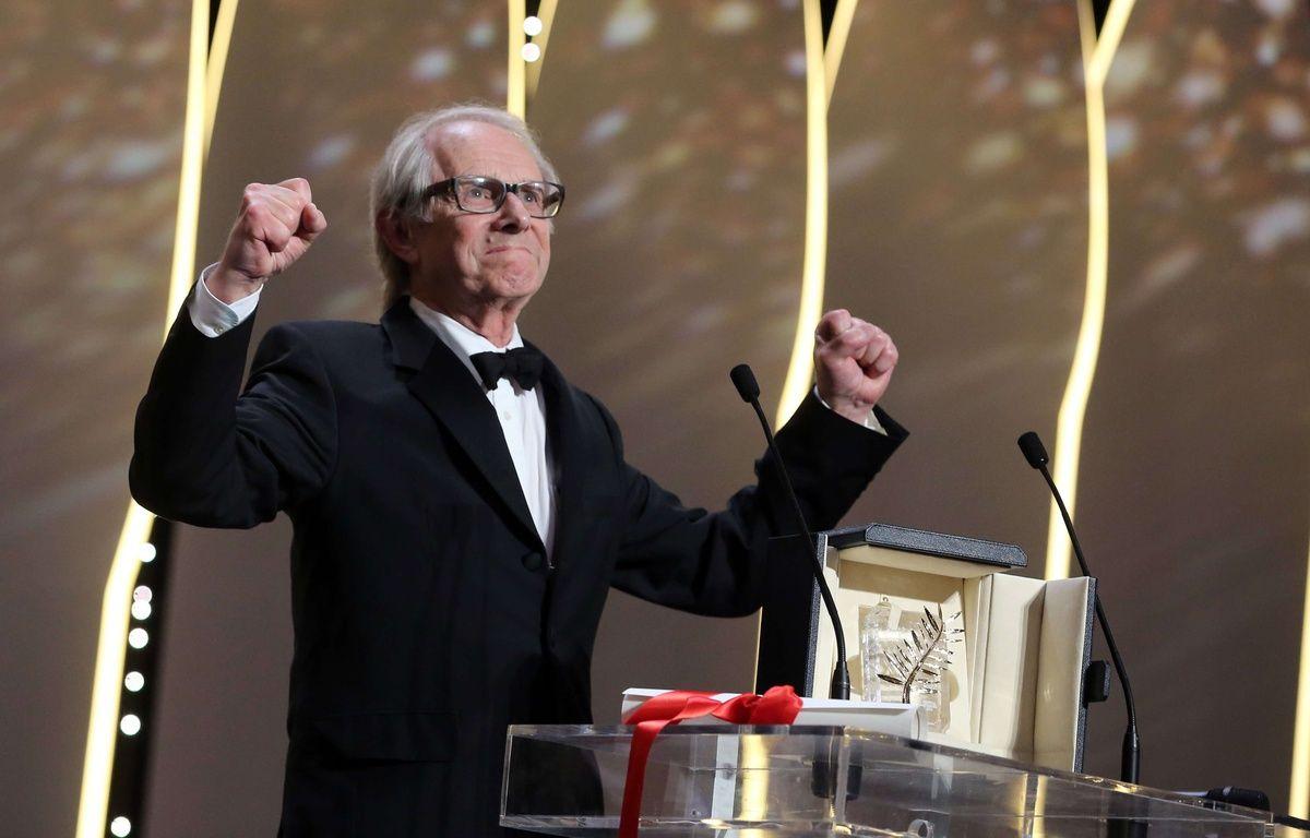 Ken Loach décroche sa deuxième Palme d'or pour «Moi, Daniel Blake» – Thibault Camus/AP/SIPA