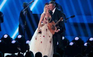 Les heureux mariés Gwen Stefani et Blake Shelton