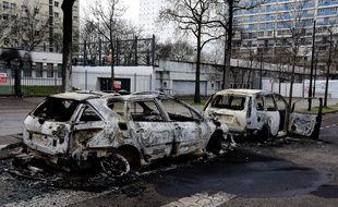 Illustration de violences urbaines près de Lyon.