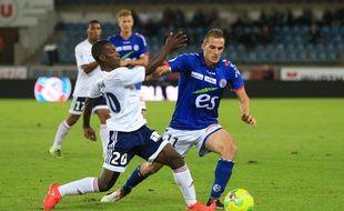 """Football: Dimitri Liénard, ce """"caméléon"""" qui fait le bonheur du Racing club de Strasbourg"""