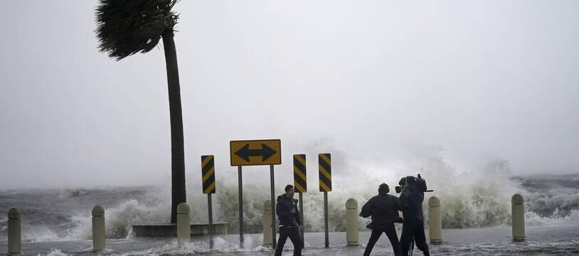 Submersions littorales, pluies torrentielles, inondations et vents à plus de 250 km/h sont attendues en Louisiane. Ici au bord du lac Pontchartrain.