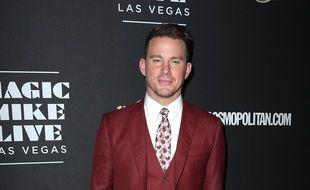 L'acteur Channing Tatum à Las Vegas