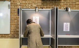 Illustration de vote aux Pays-Bas, le 23 mai 2019.